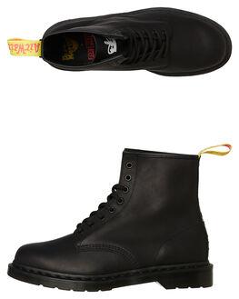 BLACK BLACK MENS FOOTWEAR DR. MARTENS BOOTS - SS24787001BKBKM