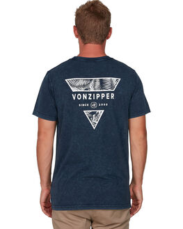 MIDNIGHT ACI MENS CLOTHING VONZIPPER TEES - VZ-V901022-MDA