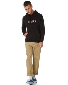 BLACK MENS CLOTHING BARNEY COOLS JUMPERS - 406-CC2-BLK