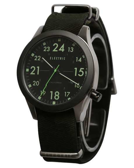 BLACK CAMO MENS ACCESSORIES ELECTRIC WATCHES - EW0010020038