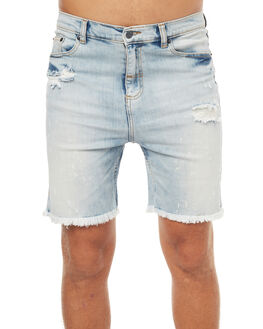MANIC BLUE MENS CLOTHING THE PEOPLE VS SHORTS - SS17082MANBL