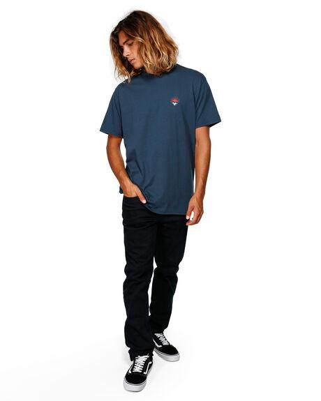 NAVY MENS CLOTHING BILLABONG TEES - BB-9592021-NVY