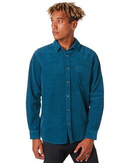 LEGION BLUE MENS CLOTHING RIP CURL SHIRTS - CSHNP19664