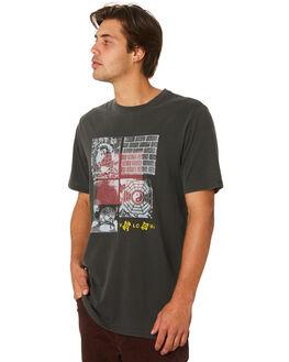 BLACK MENS CLOTHING VOLCOM TEES - A5231902BLK