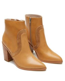 CARAMEL WOMENS FOOTWEAR SOL SANA BOOTS - SS202W427CRML
