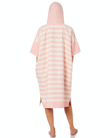 PINK STRIPE WOMENS ACCESSORIES BLEM BEACH ACCESSORIES TOWELS - OCNPNKSTRPONL