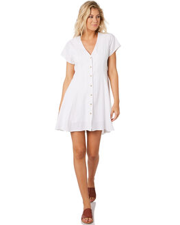 WHITE WOMENS CLOTHING ROLLAS DRESSES - 12981-001