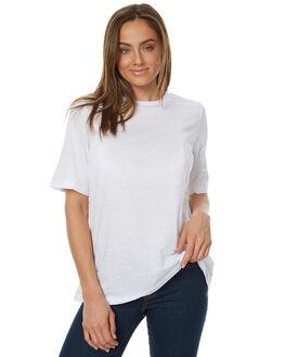 WHITE SLUB WOMENS CLOTHING THE FIFTH LABEL TEES - TJ170404TWHT