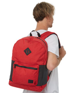 BARBADOS CHERRY MENS ACCESSORIES HERSCHEL SUPPLY CO BAGS + BACKPACKS - 10256-02091-OSBAR
