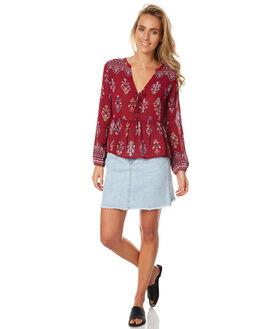 CARMINE WOMENS CLOTHING TIGERLILY FASHION TOPS - T371030CAR