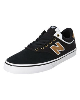 BLACK BROWN MENS FOOTWEAR NEW BALANCE SNEAKERS - NM255BTOBLKB