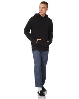 BLACK MENS CLOTHING VANS JUMPERS - VNA3HPZBLKBLK
