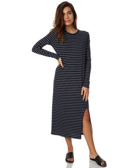 NAVY STRIPE WOMENS CLOTHING CAMILLA AND MARC DRESSES - OCMD1411NVYS
