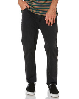 STONE BLACK MENS CLOTHING ROLLAS JEANS - 15679C460