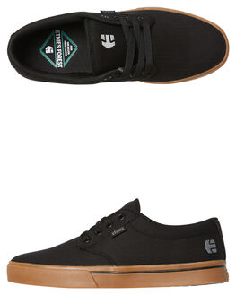 BLACK GUM MENS FOOTWEAR ETNIES SKATE SHOES - 4101000323-967