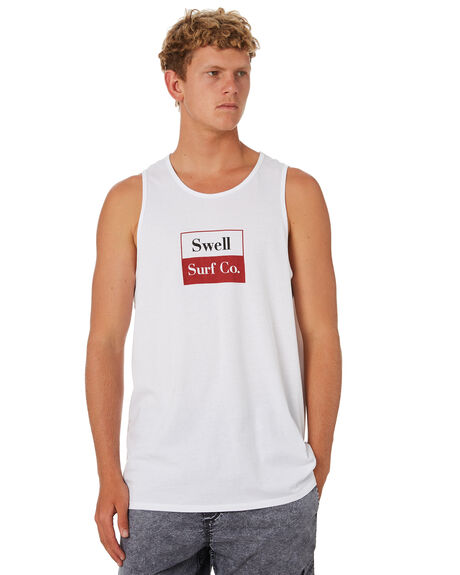 WHITE MENS CLOTHING SWELL SINGLETS - S5202282WHITE