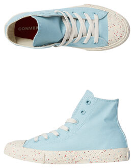 OCEAN BLISS KIDS BOYS CONVERSE HI TOPS - 660716BLISS