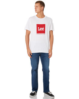 INDIGO STONE MENS CLOTHING RIDERS BY LEE JEANS - R-501053-U38INDST