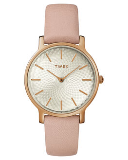 ROSE GOLD PINK WOMENS ACCESSORIES TIMEX WATCHES - TW2R85200RGPNK
