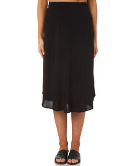 BLACK WOMENS CLOTHING ALL ABOUT EVE SKIRTS - 6403025BLK