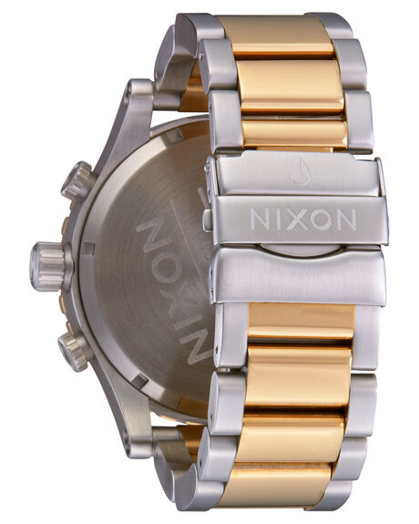 SILVER GOLD MENS ACCESSORIES NIXON WATCHES - A083-1921