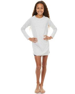 GREY MARLE FLORAL KIDS GIRLS EVES SISTER DRESSES + PLAYSUITS - 9990126GRM