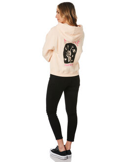 LIGHT PEACH WOMENS CLOTHING VOLCOM JUMPERS - B4112001LPC