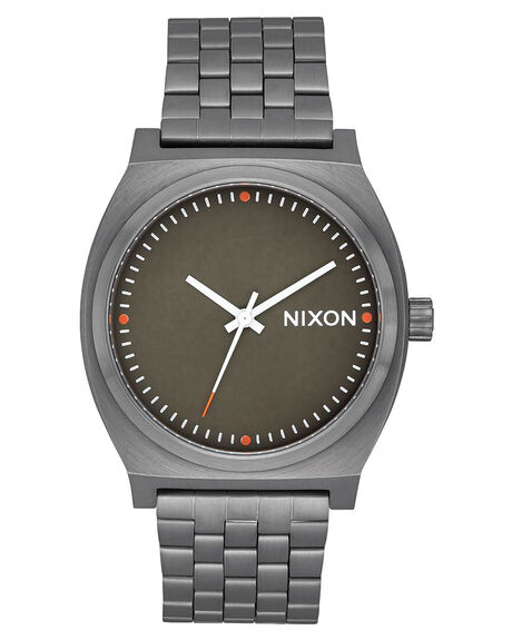 GUNMETAL ORANGE MENS ACCESSORIES NIXON WATCHES - A045-2947-00GUNOG