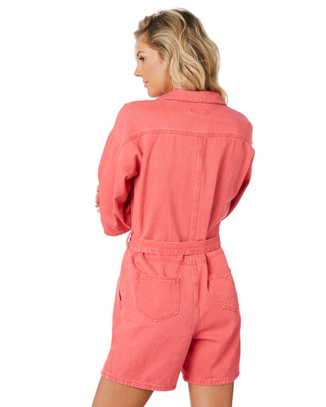 HOT PINK OUTLET WOMENS TWIIN PLAYSUITS + OVERALLS - IE19F1952HPNK