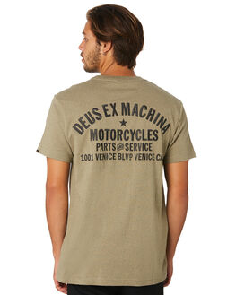 LICHEN MARLE MENS CLOTHING DEUS EX MACHINA TEES - DMP91744BLICH