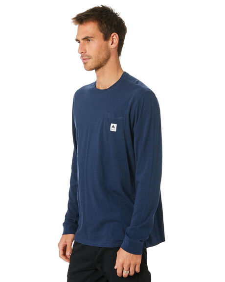 DRESS BLUE MENS CLOTHING BURTON TEES - 20393101400