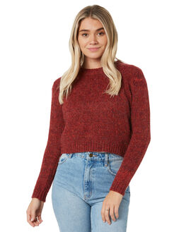 RUBY WINE WOMENS CLOTHING RUSTY KNITS + CARDIGANS - CKL0374RUW
