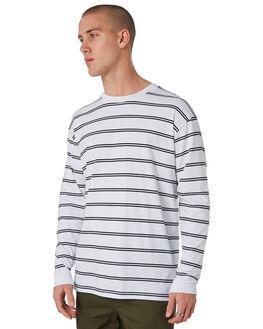 WHITE BLACK MENS CLOTHING ZANEROBE TEES - 140-METWHTB