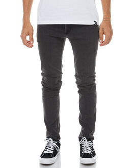 KEY BLACK MENS CLOTHING CHEAP MONDAY JEANS - 0442240KEYBK
