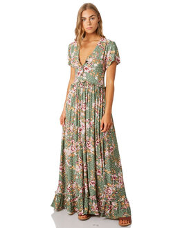 KEIRA FLORAL WOMENS CLOTHING SWELL DRESSES - S8201450KEFLR