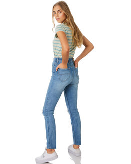 NORTHSIDE BLUE WOMENS CLOTHING LEE JEANS - L-656627-KY6