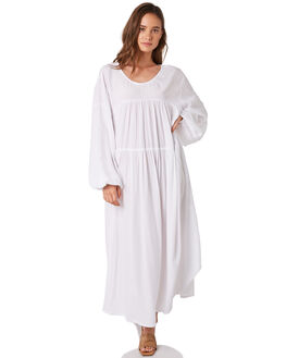 WHITE WOMENS CLOTHING ZULU AND ZEPHYR DRESSES - ZZ2871WHITE