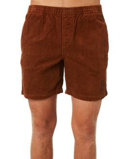 BROWN MENS CLOTHING STUSSY SHORTS - ST091602BRN