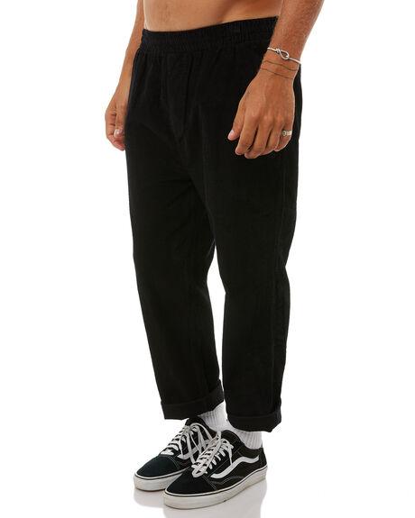 BLACK MENS CLOTHING STUSSY PANTS - ST085601BLK