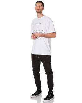 BLACK MENS CLOTHING ZANEROBE PANTS - 705-WANBLK