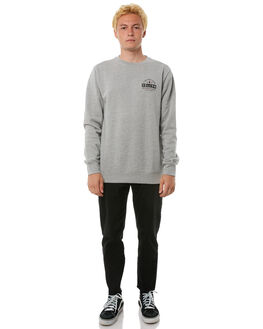 GREY MARLE MENS CLOTHING VOLCOM JUMPERS - A4611801GRY