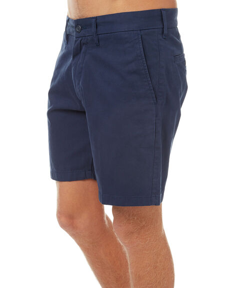 BLUE MENS CLOTHING CARHARTT SHORTS - I021730-01-GDBLU