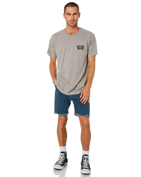 FROST GREY MENS CLOTHING RUSTY TEES - TTM2411FGR