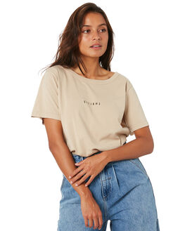 OXFORD TAN WOMENS CLOTHING THRILLS TEES - WTW20-100COXTN