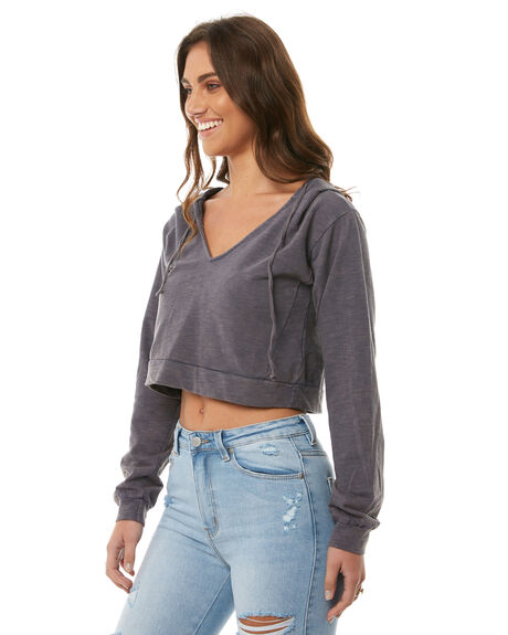 DUSTRY BLUE OUTLET WOMENS SOMEDAYS LOVIN JUMPERS - IL18S1019DBLU