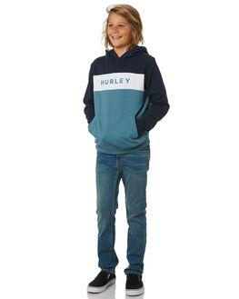 OBSIDIAN KIDS BOYS HURLEY JUMPERS + JACKETS - CJ0718451