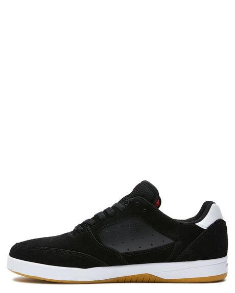 BLACK RED WHITE MENS FOOTWEAR ETNIES SNEAKERS - 4101000516599