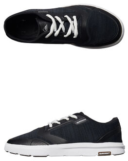 BLUE BLUE WHITE MENS FOOTWEAR QUIKSILVER SNEAKERS - AQYS700027XBBW