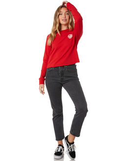 BIG RED WOMENS CLOTHING SANTA CRUZ JUMPERS - SC-WFB9869RED