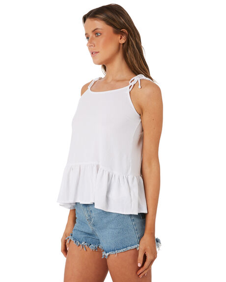 WHITE WOMENS CLOTHING SWELL SINGLETS - S8184272WHITE
